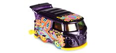 View details and collect the Hot Wheels Kool Kombi racecar in Purple. Part of the HW ART CARS series. Vw Group, Cars Series, Hot Wheels Cars, Collector Cars, Art Cars, Diecast, Trucks, Purple, German
