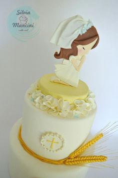 """MY"" FIRST COMMUNION - Cake by Silvia Mancini Cake Art"