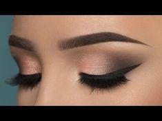 Nice 43 Best Light Smoky Eye Makeup Tutorials For Summer. More at https://aksahinjewelry.com/2018/03/05/43-best-light-smoky-eye-makeup-tutorials-summer/