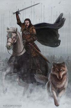 Robb Stark - Game of Thrones - KaylaWoodside.deviantart.com