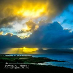 Sunrise over Ireland's Sheep's Head Peninsula in County Cork. If you love the natural beauty and history of Ireland, you'll LOVE my books. Get free previews here: http://www.jamesatruett.com/previews