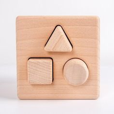 Your little learner's growth is a few shapes away With its different shapes and sizes, the wooden shape sorter cube is the perfect addition to any learner's essentials. It helps children hone their motor skills, develop their manual dexterity and improve their hand-eye coordination while encouraging problem-solving as they match the shapes into the correct holes. Key Features Approximate Shipping Time: 4-6 weeks Material: WoodSize: 4.52 x 4.52 x 4.33 inch (L x W x H) Toddler Gifts, Gifts For Kids, Diy Sensory Board, Best Educational Toys, Busy Boards For Toddlers, Teaching Aids, Wooden Shapes, Baby Hands, Montessori Activities