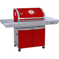 Team Grill Alabama Crimson Tide MVP Propane Gas Grill : BBQ Guys