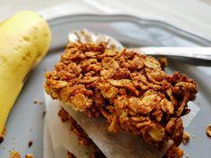 Barras de Aveia e Banana – Dicas de uma dietista