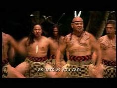 """The Maori tribe of New Zealand is a good example of the Polynesian. here is their famous traditional dance """"Haka"""""""