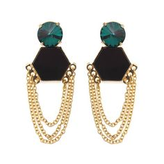 New York Earrings, $53, now featured on Fab.