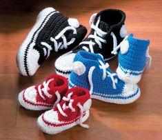 ADORABLE! Free Knit & Crochet Slipper Patt - free on-line knitting patterns