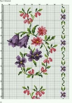 This Pin was discovered by Hül Cross Stitch Bookmarks, Cross Stitch Borders, Cross Stitch Rose, Cross Stitch Flowers, Cross Stitch Designs, Cross Stitching, Cross Stitch Embroidery, Cross Stitch Patterns, Needlework