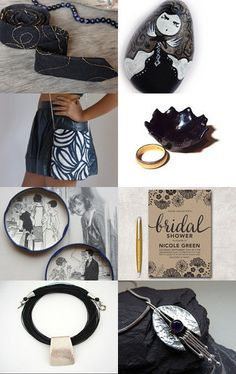 Black and white always elegant by Gioconda Pieracci on Etsy--Pinned with TreasuryPin.com