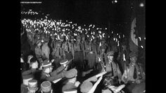 Torchlight Procession, Torch (Fire), Deployment, Reichstag, Swastika Flag, Defilee