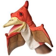 "Aurora Plush Pteranodon Puppet - 10"" * Be sure to check out this awesome product. (This is an affiliate link) #Puppets"