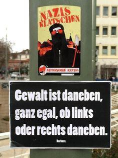 #gewalt ist daneben!