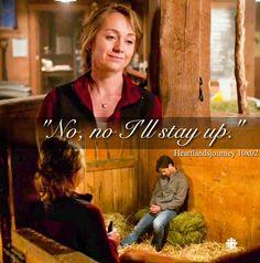 """No, no I'll stay up."" Ty & Amy - Season 10 Episode 02"