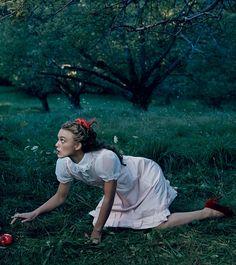 Keira Knightley - Vogue by Annie Leibovitz, December 2005