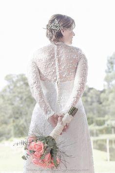 Vestido de novia, wedding drees, Bridal - Lovely image of the bride.