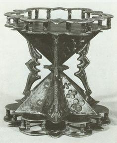 clessidra in ferro battuto