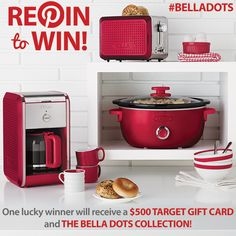 #BELLADOTS Repin to Win a #Target gift card and The Dots Collection in your favorite #color! Submit your pin here: http://tinylink.in/YB1