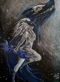 I just finish this fanart of Kindred - League of Legends. Is my first time on black paper.. do you like it? Say me!   You want to read a fanfiction of League of Legends? I wrote one! &nbs...