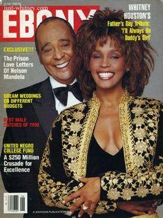 Whitney Houston - Ebony Magazine Cover (June 1990)