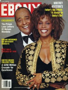 Whitney Houston - Ebony Magazine Cover (June 1990)