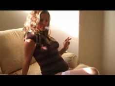▶ lady in sexy stockings smoking - YouTube