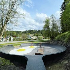 A new skatepark in Wilkeson, Washington is not just any old skatepark, but a bacon and eggs skatepark. Travel Around The World, Around The Worlds, Orcas Island, Evergreen State, Skate Park, Wanderlust Travel, Plan Your Trip, Amazing Destinations, Skateboarding