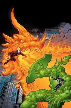 Effigy vs. Green Lantern