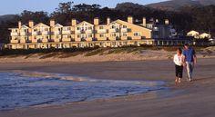 €321 Dit hotel aan het strand in Half Moon Bay kijkt uit opPillar Point Harbor. big sur