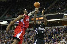 Sacramento Kings DeMarcus Cousins, Los Angeles Clippers DeAndre Jordan