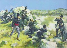 British 95th Rifles in Spain