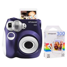 Polaroid 300 Instant Camera - Purple (PIC-300L) with 10 Pack of Film I absolutely need this! Only 80 dollars! I need to save up!