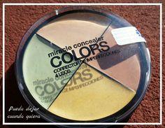 Corrector de imperfecciones 4 usos colors millanel