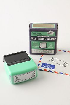 I want this stamp! To/From Self-Inking Stamp $10