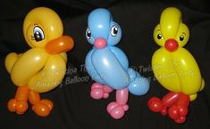 Everyday balloon Models by Twistina