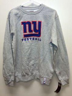 NEW/NWT New York Giants Sweatshirt - SMALL - NFL Team Apparel NY #NFLTeamApparel #NewYorkGiants