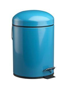 Aqua Trash Can: Artsy Dorm Room Decorating: Style: teenvogue.com  $17 Crate & Barrel