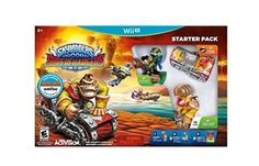 Skylanders SuperChargers: Dark Edition Starter Pack (Nintendo Wii U, 2015)