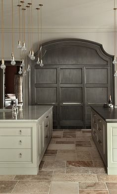 Love the grey paneled doors