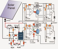 diagram of a solar charge controller circuit schematic - 28 images - diagram of a solar charge controller circuit schematic, how to connect a solar panel to an existing inverter, solar charge controller circuit, solar charge controller wiring diagram wi Battery Charger Circuit, Solar Panel Battery, Solar Panel Kits, Solar Panel System, Solar Panels, Panel Systems, Landscaping Software, Landscaping Company, Landscaping Jobs