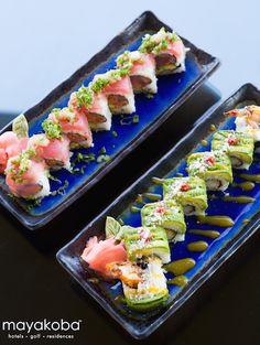 Nuestro proposito de Año Nuevo: Comer más mariscos and acompañarlos con un delicioso tequila #SABORmayakoba