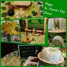 St. Patrick's Day Dinner & Dessert