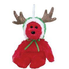 2002 HOLIDAY TEDDY Green Version TY Jingle Beanie Baby