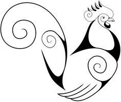 swirly rooster @ https://masonillustration.wordpress.com/2013/02/page/2/