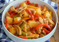 Sweet 'n Sour Chicken Stir Fry recipe