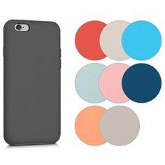 cool kwmobile Funda para Apple iPhone 6 / 6S - Case para móvil de TPU silicona - Cover trasero en color deseado
