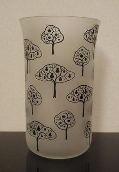 Beautiful Lobmeyr Matte Glassware Designed by Josef Hoffmann Tree Design | eBay