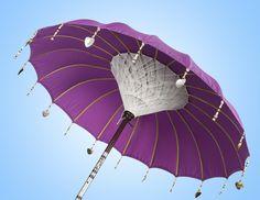 EN The Jacaranda Lila sun parasol is a unique purple that promotes tranquility. NL De Jacaranda Lila is een hardloper.