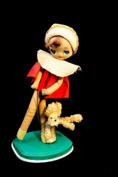 1960's Big Eyed Bradley Doll
