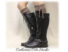 Leg warmers knit legwarmers womens leg by CatherineColeStudio, $24.90