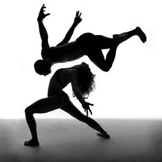 Fly Black and White Photography: Dancers in the Dark